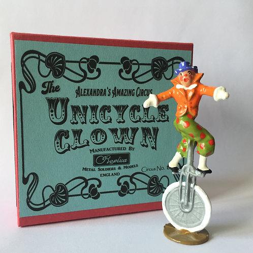 Circus No8 Unicycle Clown