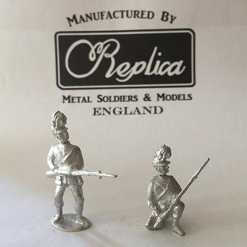 AGW B105 London Rifle Brigade: 6x Kneeling Ready  6x Standing Ready