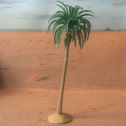 SN1. Large Single Plastic Palm Tree