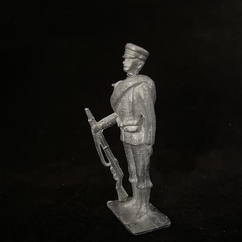 AGWBG.13Bulgarian/Greek  Infantry Attention (Rolled Blanket) ( 12 figure unit)
