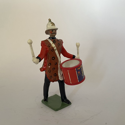 RB26Tenor Drummer with Animal Skin Apron. Straight Trousered. (Select Head type