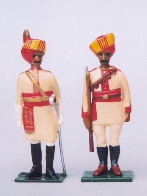 INDIAN ARMY SET 21. Bikanir Camel Corps