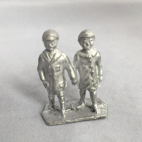 B75. Small children walking