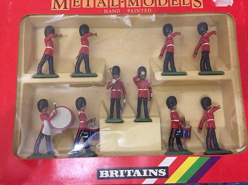 Britains Set Scots Guard Band
