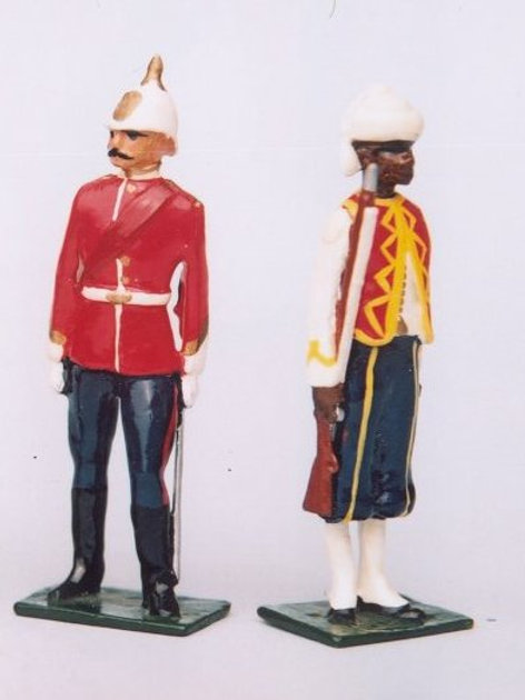 INDIAN ARMY SET 06. West India Regt