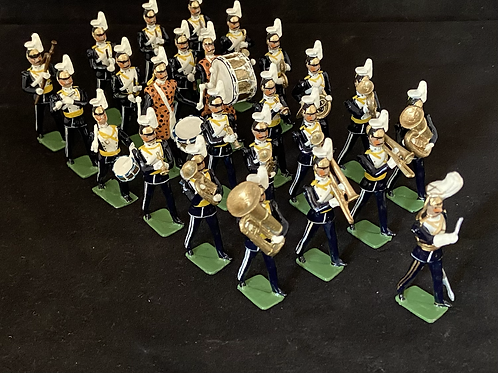 Painted Band1.   17th Lancers (Dismounted) . Choice of 12- 36 Piece band