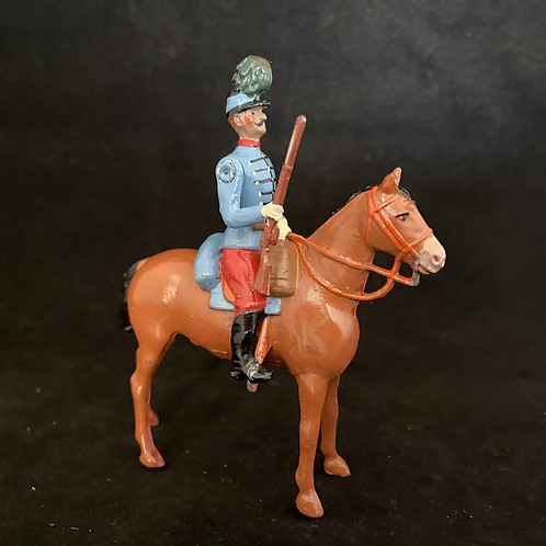 AGWF9 - French Chasseurs /hussars x6 on standing horse