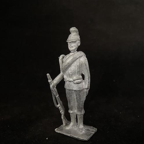 AGWKB.13Bavarian Infantry Attention (Rolled Blanket) ( 12 figure unit)