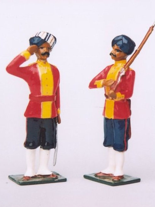 INDIAN ARMY SET 14. 38th Bengal Native Infantry