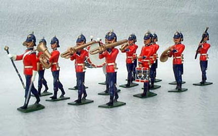 MB 05Line infantry in gaitors full band.