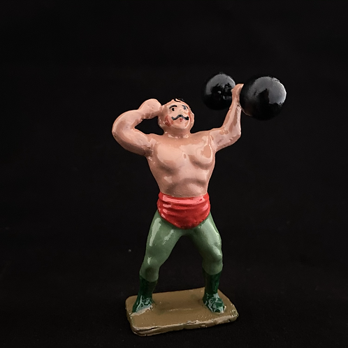 C14. Strongman with Dumbell