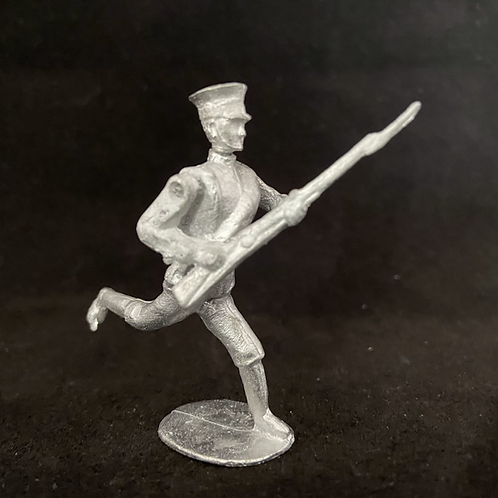 AGWJ.1	Charging Japanese   infantry  (rolled Greatcoat) (12 figure Unit)