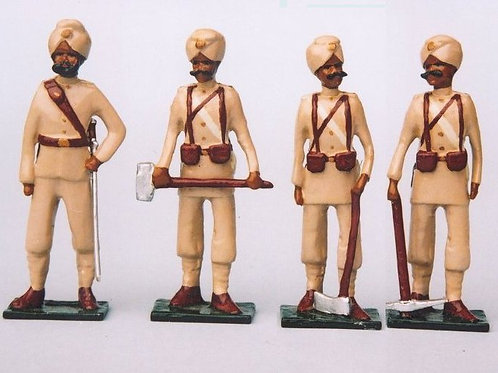 INDIAN ARMY SET 13. 81st Madras Pioneers