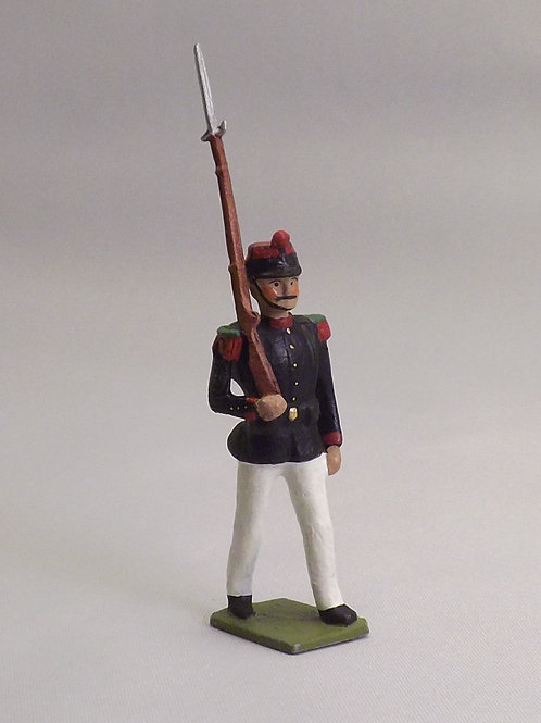 No 127-French Line Infantry Full Dress - Paris Office figure