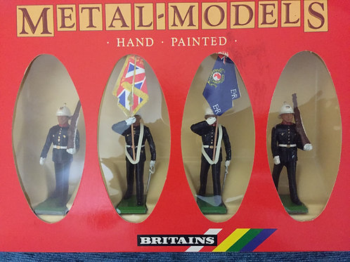 Britains Set 7201 Royal Marine Colour Party