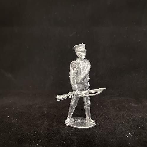 AGWJ.2Marching Japanese  Infantry at trail (rolled Greatcoat) (12 figure Unit)