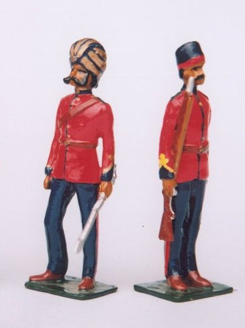 INDIAN ARMY SET 10. Madras Sappers and Miners