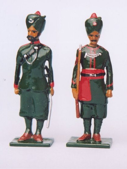 Painted Indian Army 7 Figure Boxed Set