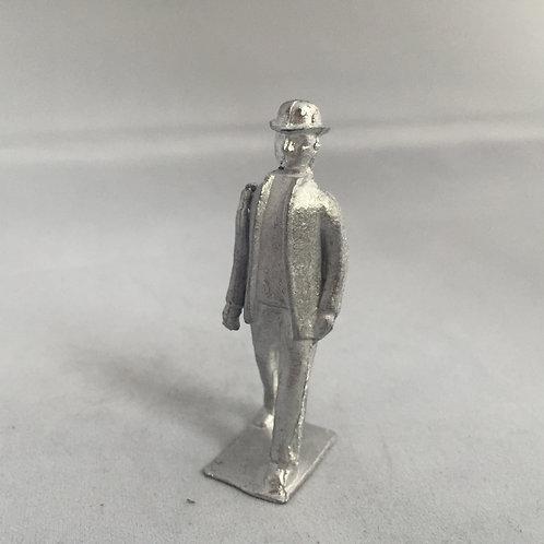 B65. Walking Edwardian Man.