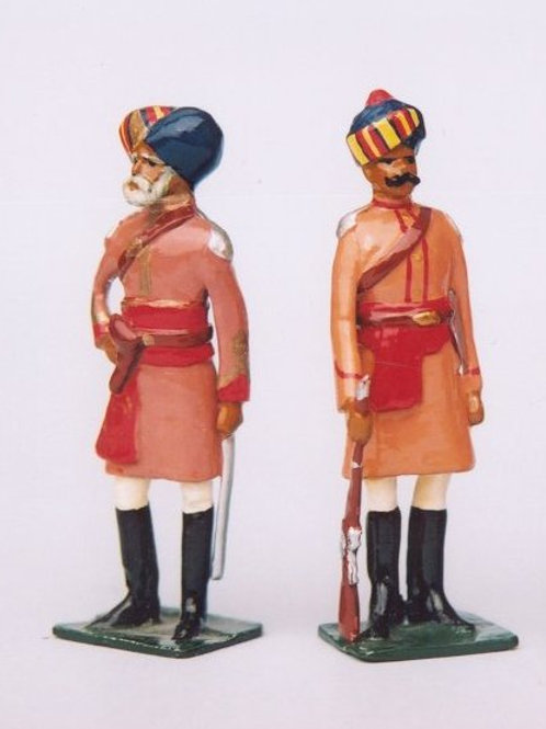 INDIAN ARMY SET 05. Corps of Guide (Cavalry)