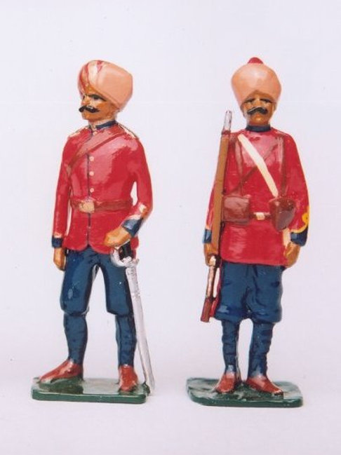 INDIAN ARMY SET 02. Bombay Sappers and Miners