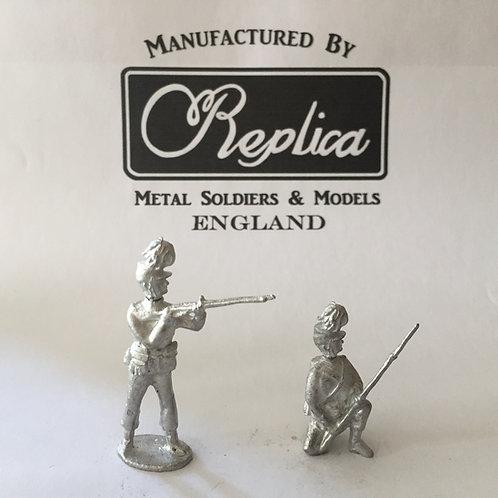 AGW B106 London Rifle Brigade: 6x Kneeling Ready  6x Standing Firing
