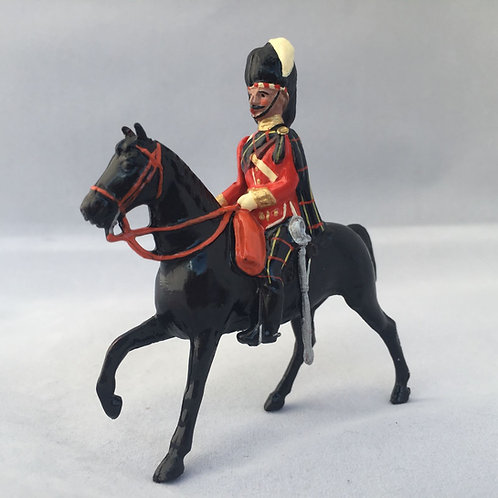 No 57-Mounted Highland Officer