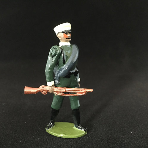 No 237-Greek/Bulgarian Inf Marching at Trail
