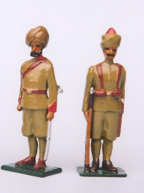 INDIAN ARMY SET 15. Corps Of Guides Infantry