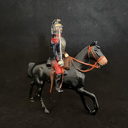 AGWF 10 - French Curassiers x6 walking horse