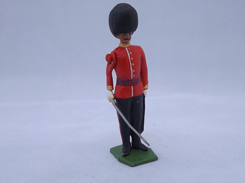 No 105-Guards Officer Attention