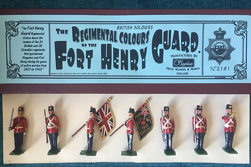 2181 Fort Henry Guard Colour Party. Painted Boxed Set.