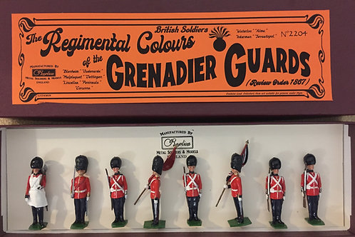2204 Regimental Colours of the Grenadier Guards, Review Order 1867