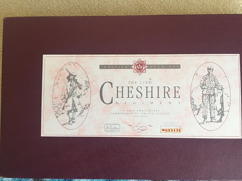 Britains 5189 22nd Cheshire Regt