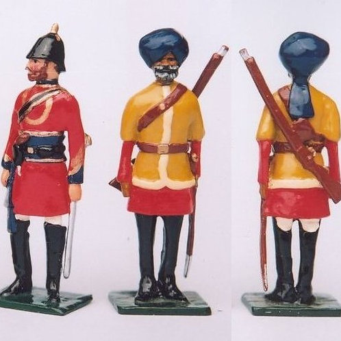 INDIAN ARMY SET 08. 2nd Cavalry Punjab (Irregular) Frontier  Force