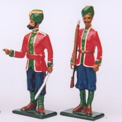 INDIAN ARMY SET 17. 86th Carnatic Infantry
