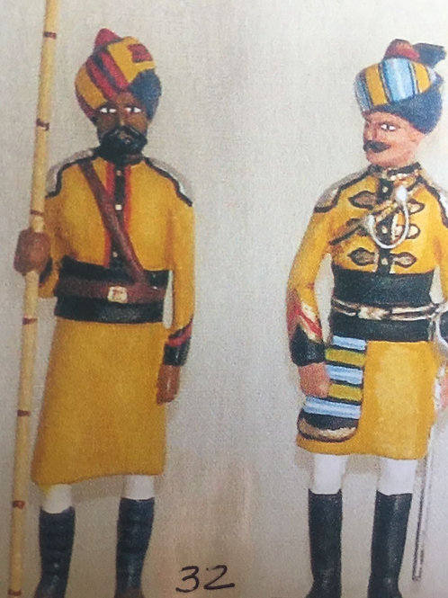 INDIAN ARMY SET 32. 1st Bengal Lancers (Skinners Horse)