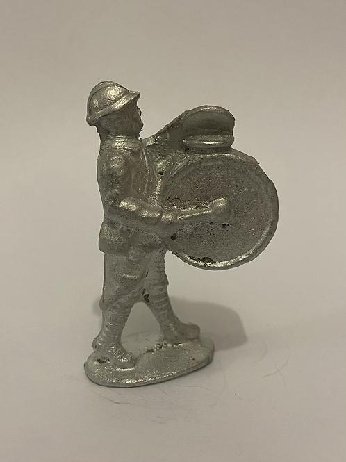 Q18. WW1 French Infantry Bass Drum (Helmet)