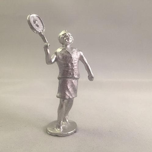 B52. Lady playing tennis