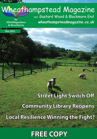 Front Page Wheathampstead Magazine May 2