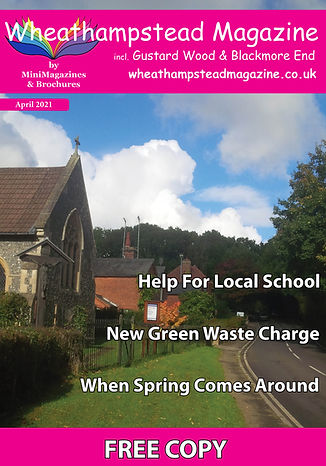 Front Page Wheathampstead Magazine April