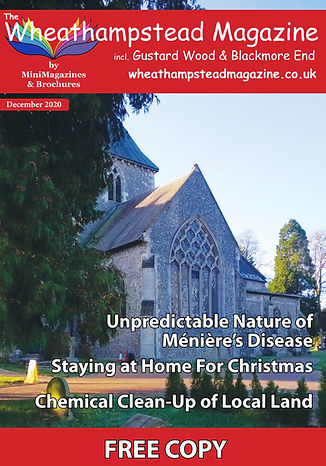 Front Page Wheathampstead Magazine Decem