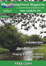 Wheathampstead Magazine Front Page Octob