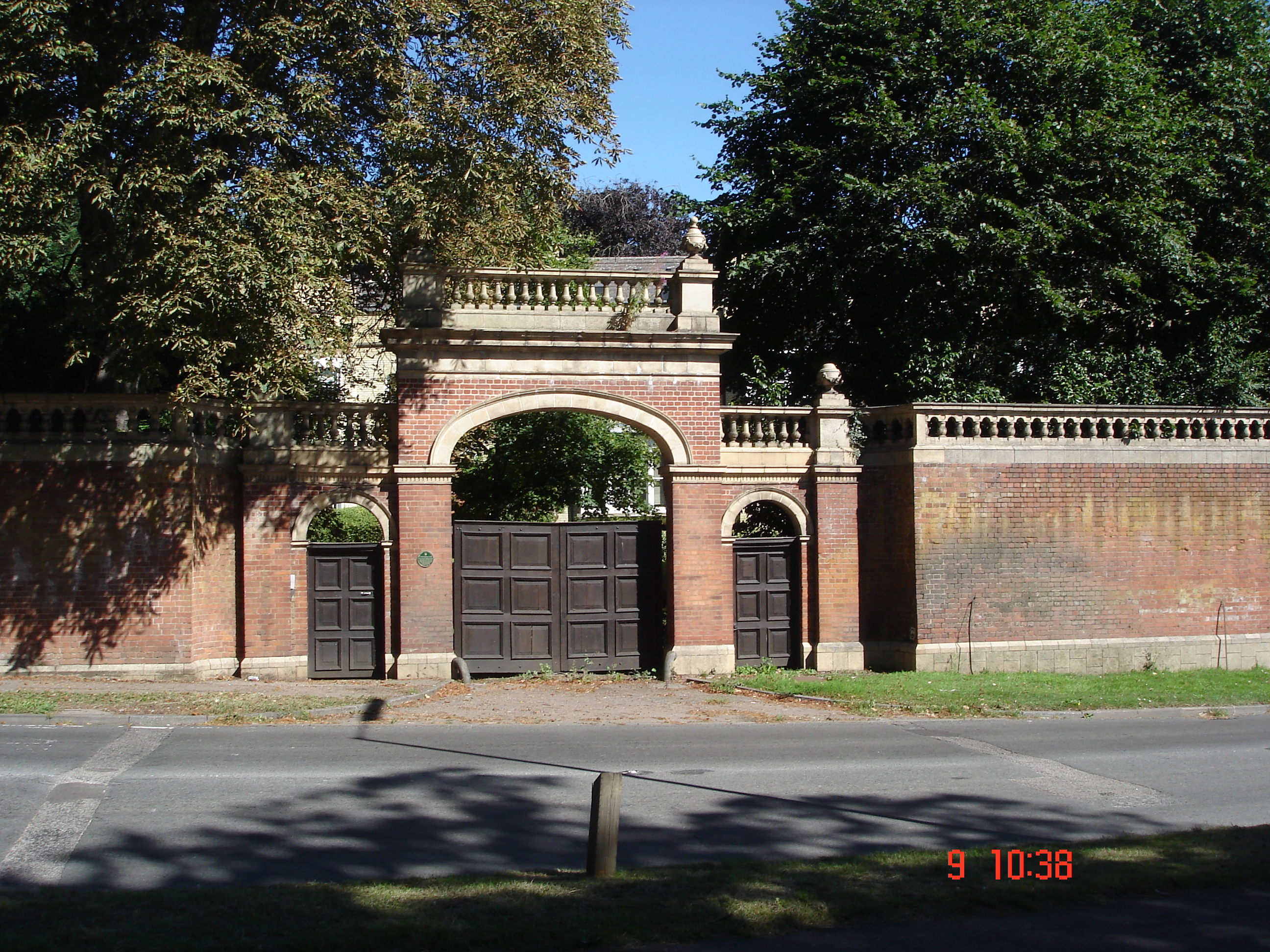 Wheathampstead House Entrance