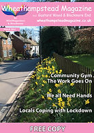 Front Page Wheathampstead Magazine March