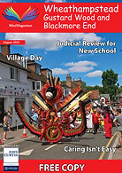 Wheathampstead Front Page Aug 18