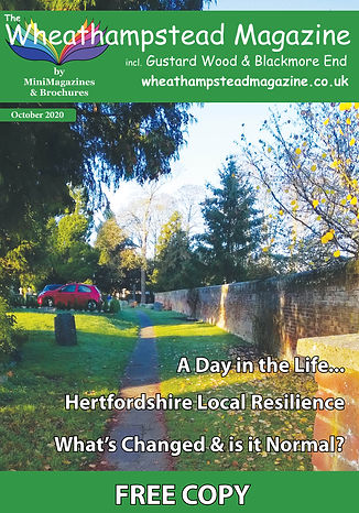 Front Page Wheathampstead Magazine Octob