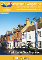 Front Page Wheathampstead Magazine Septe