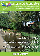 Front Page Wheathampstead Magazine Augus