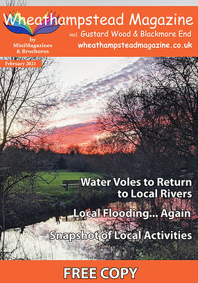 Front Page Wheathampstead Magazine Febru